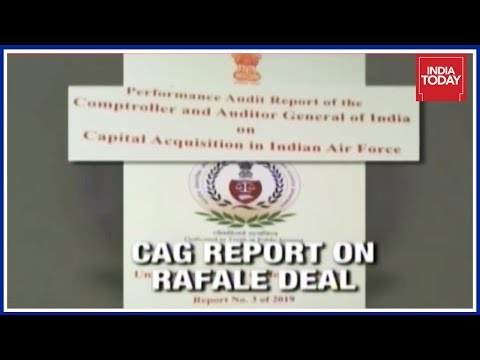 CAG Report Accessed: NDA 2016 Rafale Deal Cheaper Than 2007 UPA Proposal Mp3