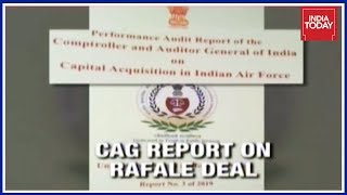 CAG Report Accessed: NDA 2016 Rafale Deal Cheaper Than 2007 UPA Proposal