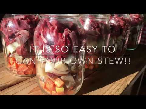 Canning Stew: Make Your Own Convenience Food
