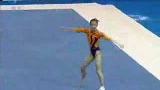 Zhang Yufei 2005 Chinese National Games Floor