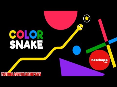 Color Snake (By Ketchapp) Android iOS Gameplay