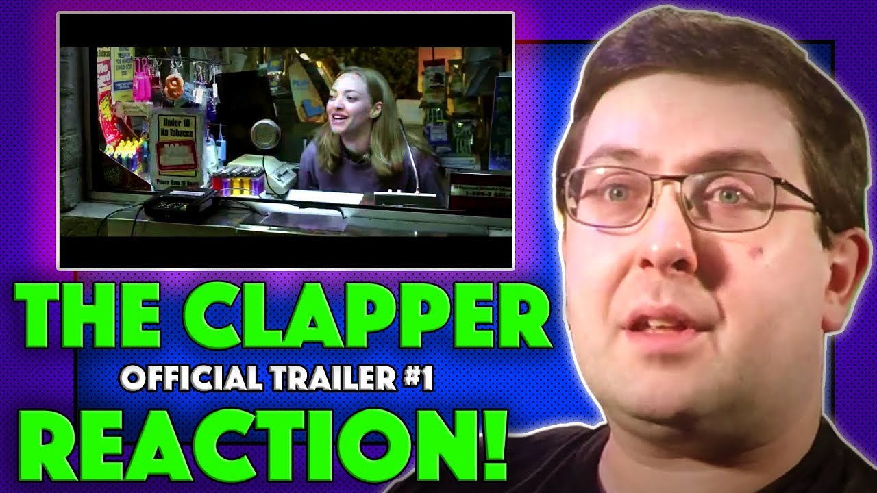 Download REACTION! The Clapper Trailer #1 - Ed Helms, Amanda Seyfried Movie 2018