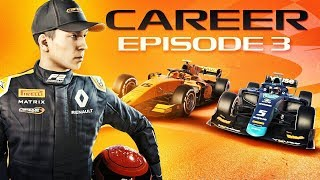 Formula 2 Career Mode Part 3: INSANE LEAD BATTLE