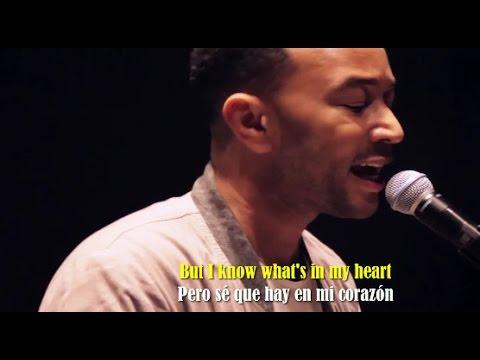 John Legend - Love Me Now (Sub Español + Lyrics)
