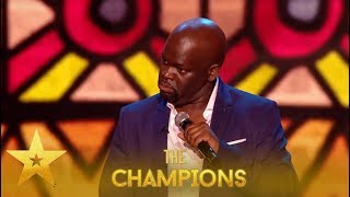Daliso Chaponda: One Of The WORLD's Best Comedians You'll SEE!| Britain's Got Talent: Champions