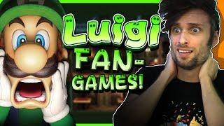 LUIGI Fan-Games! - SpaceHamster