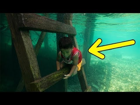 They dive 70 meters deep without any equipment and live at sea!