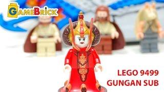 LEGO 9499 Звездные Войны Gungan Sub Обзор ЛЕГО Star Wars [музей GameBrick]