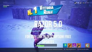 FORTNITE RAZOR 5.0 TITAN TWO VERSION BEST AIMBOT DROPSHOT RAPIDFIRE PS4 XBOX ONE PC