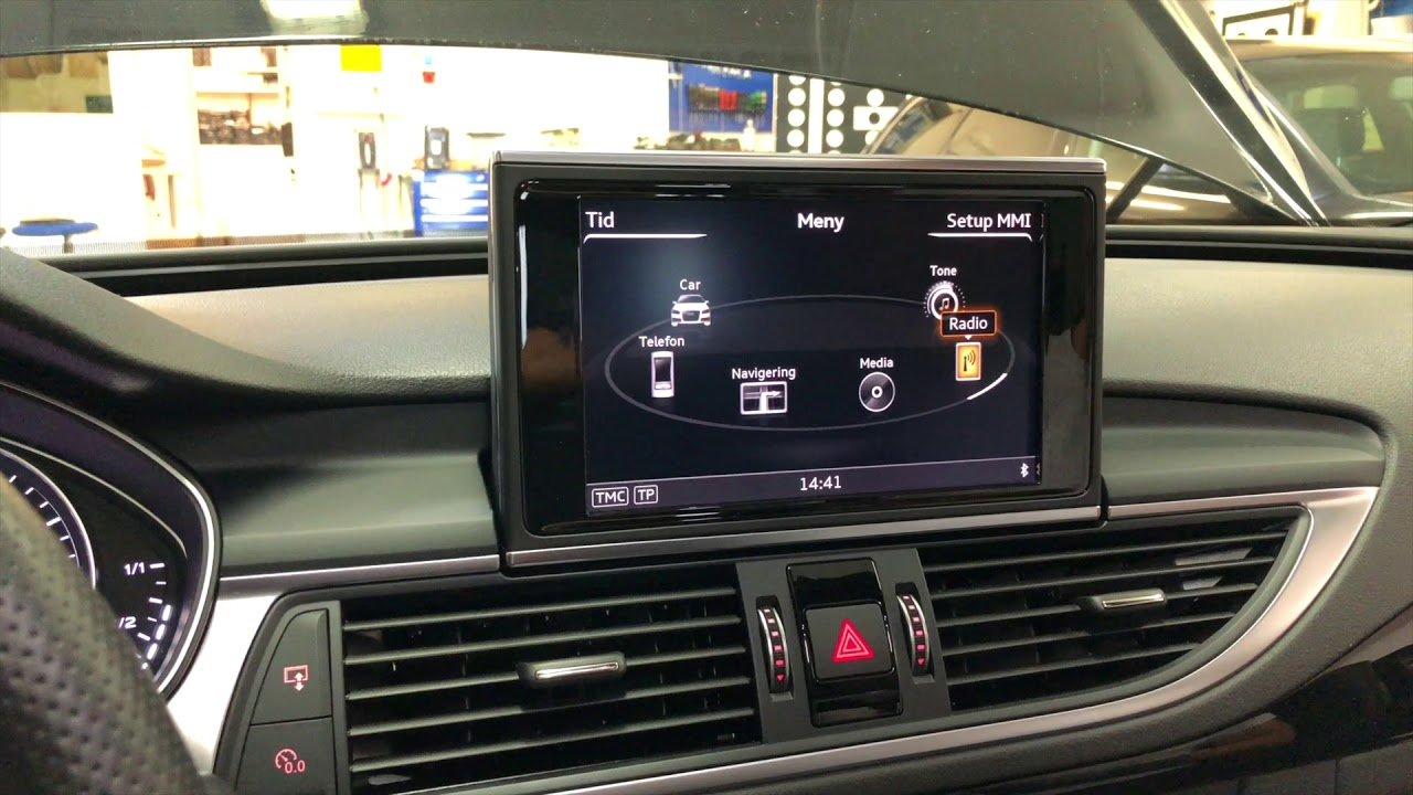 Original Audi A6 / A7 4G CarPlay aktivering (kodning