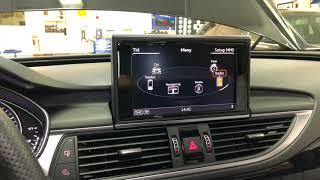 Original Audi A6 / A7 4G CarPlay aktivering (kodning) / installation i MMI navigation