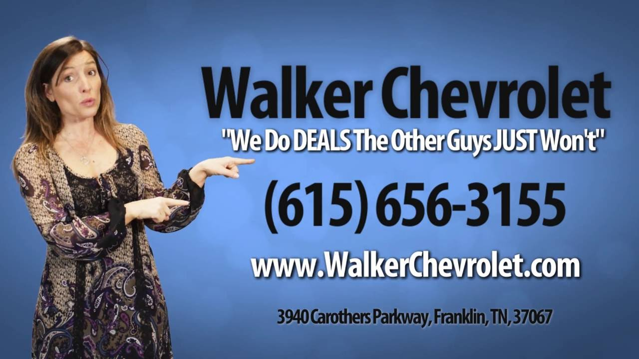 Walker Chevrolet July 2016 Commercial - YouTube