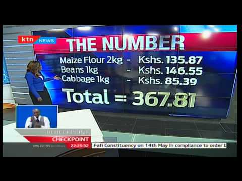 Checkpoint Number: Daily minimum wage in Kenya
