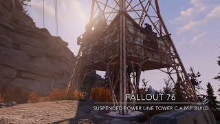 fallout 76 base building tower video, fallout 76 base