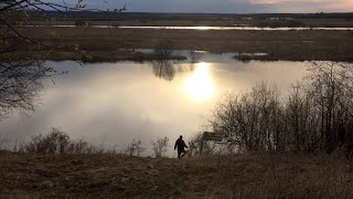 Удачная рыбалка на малой реке Ловим щуку после нереста