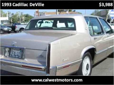 1993 cadillac deville used cars oakland san leandro bay for Cal west motors san leandro ca