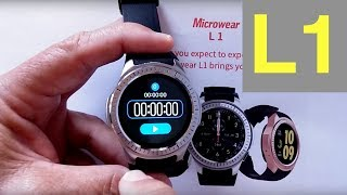 Microwear L1 Dual Mode Sports Smartwatch: Unboxing & 1st Look