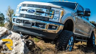 fabtech lift kit 6 inch 4 link suspension lift product review at realtruck com