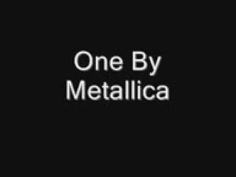 metallica one studio version