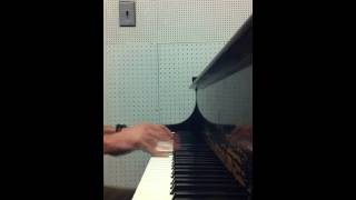 Slow(er) piano blues (in F)