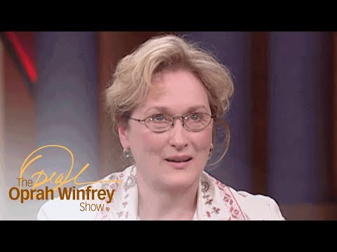 Meryl Streep's Favorite On-Screen Kiss | The Oprah Winfrey Show | Oprah Winfrey Network