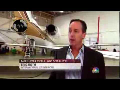 Private jet gets $2 million gold-plated makeover