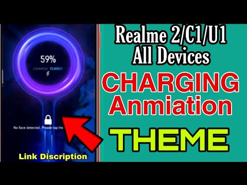 Realme2/C1/U1/C2 All Devices |Charging Animation Best Theme 2019 | For All  Realme Devices in Hindi😉