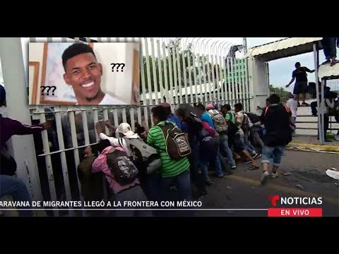 BREAKING: Honduran Caravan Breaks Fence At Mexico / Guatemala Border - Storms In! What's Going On?