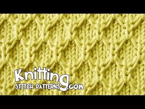 Mock Honeycomb Stitch Youtube
