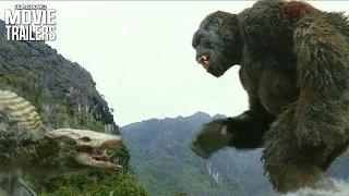 Kong: Skull Island Clip | The King Kong Battles a Gigantic Skull-Crawler