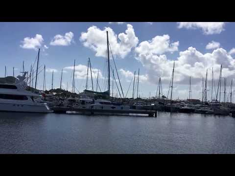Marigot Marina Fort Louis in St Martin for yacht, motor boat and sail boat