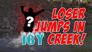 Impact Only Disc Golf Round | Loser jumps in creek!