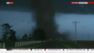 Weather Events 2019 - Tornadoes everywhere (USA) - Sky News - May 2019