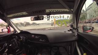 Budapest Nagy Futam III 2015 - Onboard - Mato Homola [SEAT Leon Cup Racer]