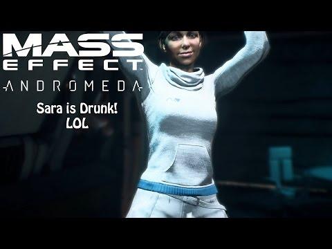 Mass Effect: Andromeda - Sara Ryder gets SMASHED, LOL