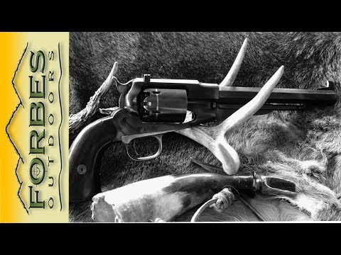 1858 New Army  .44 Caliber Revolver Hunt