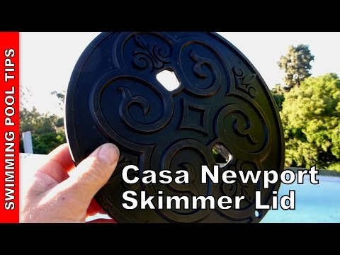 Casa newport skimmer lids bronze plastic lid shown youtube