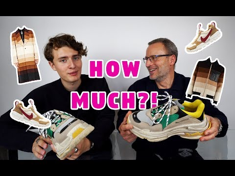 MY DAD GUESSES HOW MUCH MY CLOTHES ARE WORTH!!!