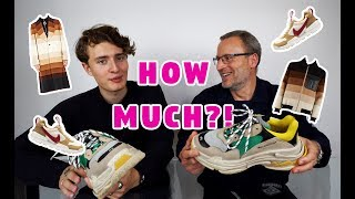 One of Magnus Ronning's most viewed videos: MY DAD GUESSES HOW MUCH MY CLOTHES ARE WORTH!!!