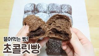 뜯어먹는 초콜릿빵 만들기 Chocolate Bread チョコレートパン