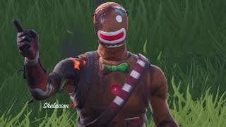 *NEW* Burnt Merry Marauder Skin! All Masks Style & My Back Blings Showcase (Fortnite)
