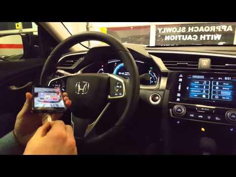 Apple Car Play/Bluetooth on 2016 Honda Civic with RE.AL Honda Pro