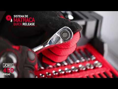 Juego de 450 dados y accesorios combinados en blow molded Ur thumbnail
