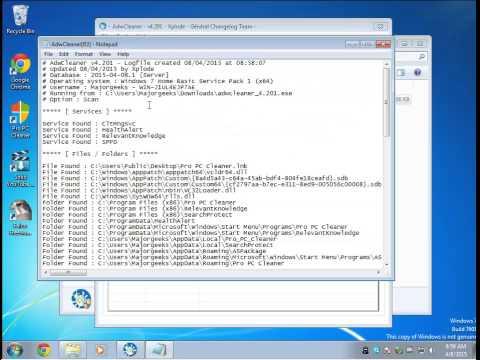 Download Malwarebytes AdwCleaner Beta - MajorGeeks