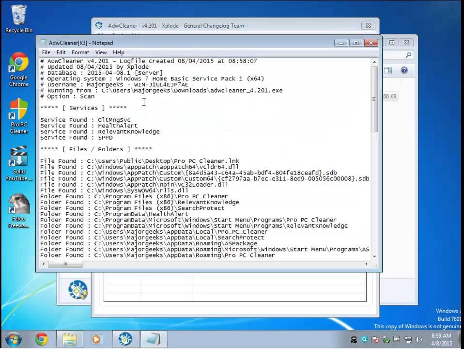 Download Malwarebytes AdwCleaner - MajorGeeks