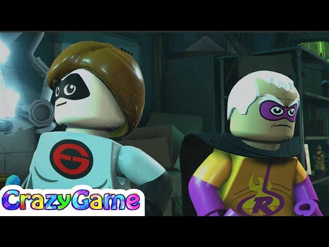 LEGO The Incredibles Gameplay Walkthrough Part 4   CRAZYGAMINGHUB