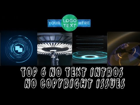 top-6-no-text-intros-|-no-copyright-issues
