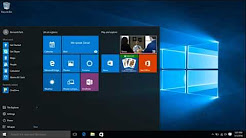How to customize Windows 10 desktop icons and start menu