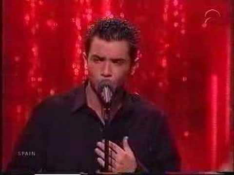 Eurovision 2001 Spain David Civera-Dile que la quiero