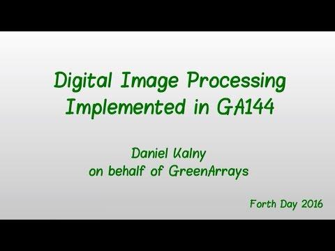 Forth Day 2016 presentation by Daniel Kalny